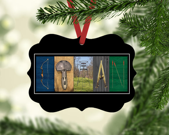 Hunter Name Ornament