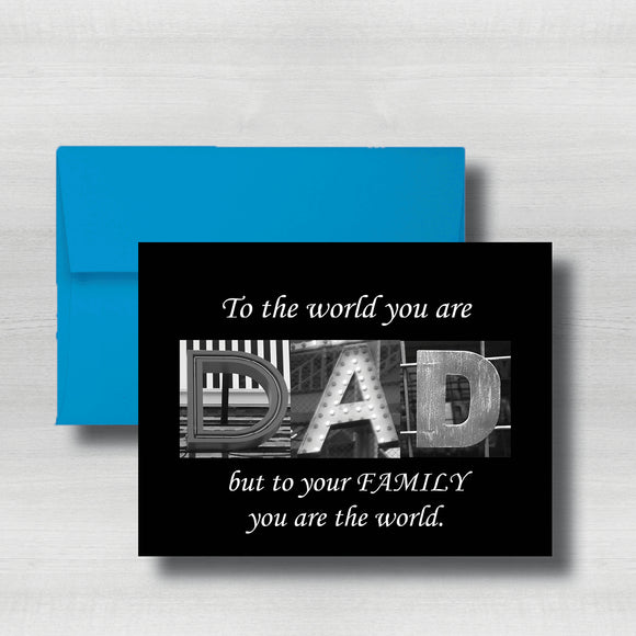 Regular Fathers Day Card~ Cards ~ Flat Cards ~ 5