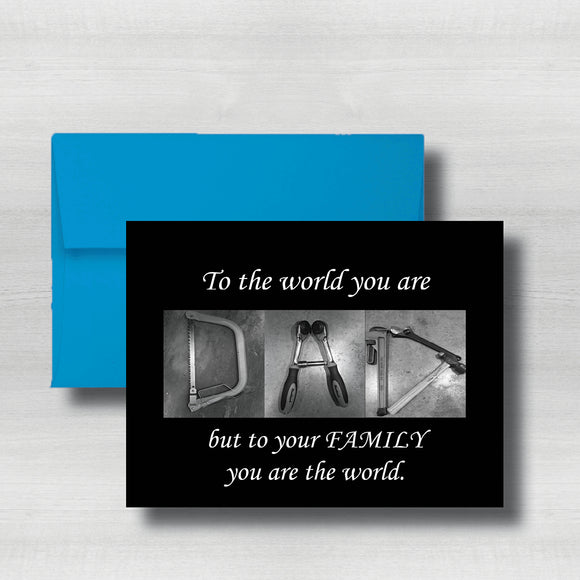 Tool Art Fathers Day Card~ Cards ~ Flat Cards ~ 5