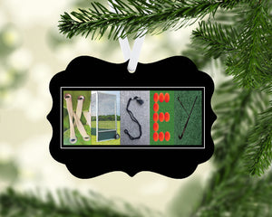 Field Hockey Ornament