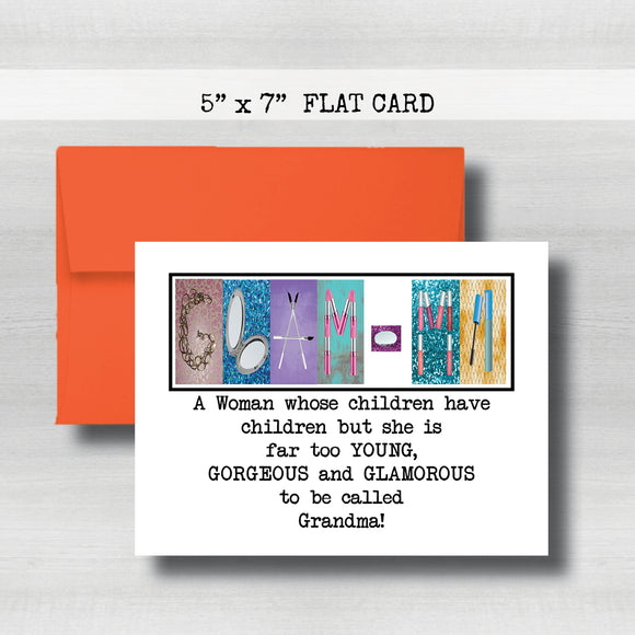 Glam-ma Cards -Happy Mother's Day Card~ Cards ~ Flat Cards