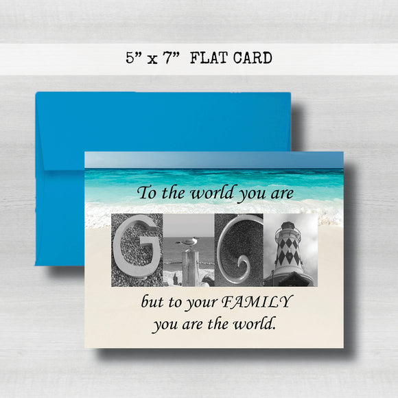 Gigi Card - Happy Mother's Day Card~ Cards ~ Flat Cards