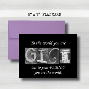 GIGI Cards -Happy Mother's Day Card~ Cards ~ Flat Cards