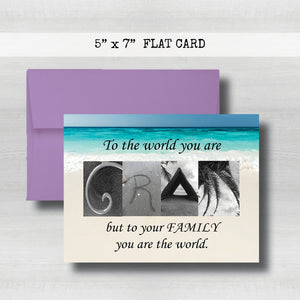 Gram Card - Happy Mother's Day Card~ Cards ~ Flat Cards
