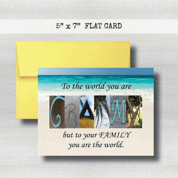 Grammy Card - Happy Mother's Day Card~ Cards ~ Flat Cards