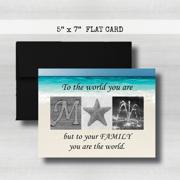 Mom Gifts-Mother's Day Card~ Cards ~ Flat Cards