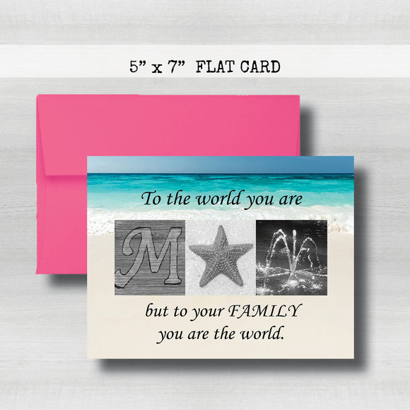 Happy MOM'S Day Card~ Beach Cards ~