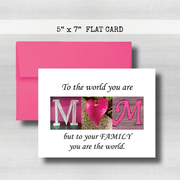 Happy MOM'S Day Card~ Cards ~ Flat Cards