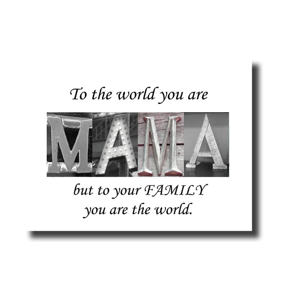 Mama-Mother's Day