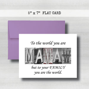 Mamaw Card - Happy Mother's Day Card~ Cards ~ Flat Cards