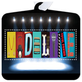 Theater Name Sign, Drama Club Gift Metal Ornament