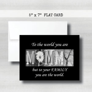 Mommy1 Mommy Card~ Cards ~ Flat Cards