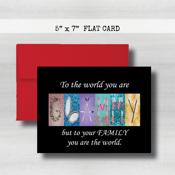 Glammy Cards -Happy Mother's Day Card~ Cards ~ Flat Cards