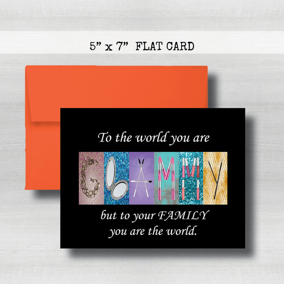 Glammy Card - Happy Mother's Day Card~ Cards ~ Flat Cards