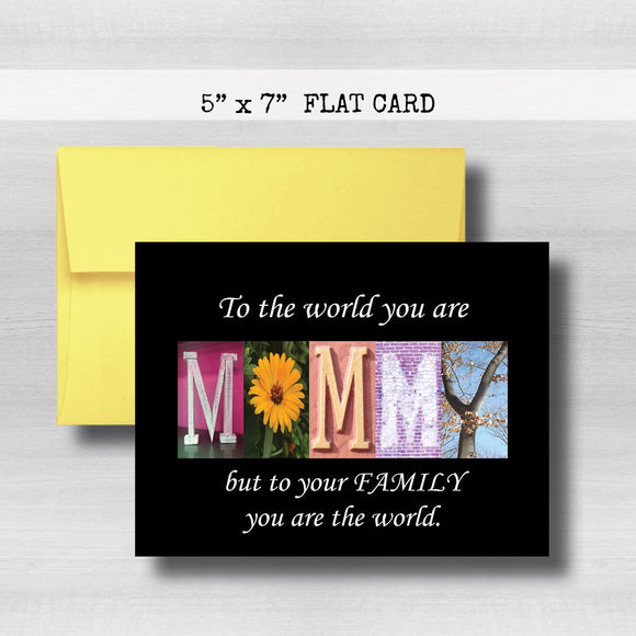 Mommy Card~ Cards ~ Flat Cards