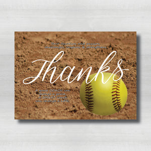 Softball Field Thank You
