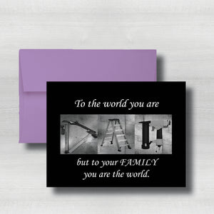 "Home Improvement~Carpenter~Happy Fathers Day Card~ Cards ~ Flat Cards ~ 5"" x 7"""