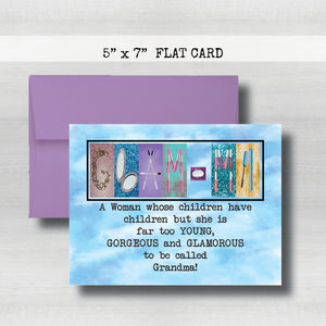 GLAMA Cards -Happy Mother's Day Card~ Cards ~ Flat Cards