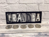 Grandpa Name Magnet