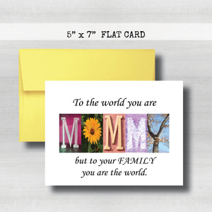 Mommy5 - Mommy Card