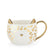 Chloe™ White Leopard Cat Mug by Pinky Up® - Charminique