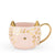 Chloe™ Pink Leopard Cat Mug by Pinky Up® - Charminique