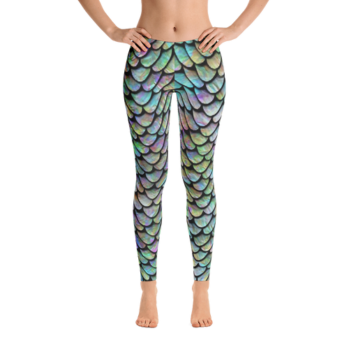 Mermaid Leggings - CraftyKatCorner