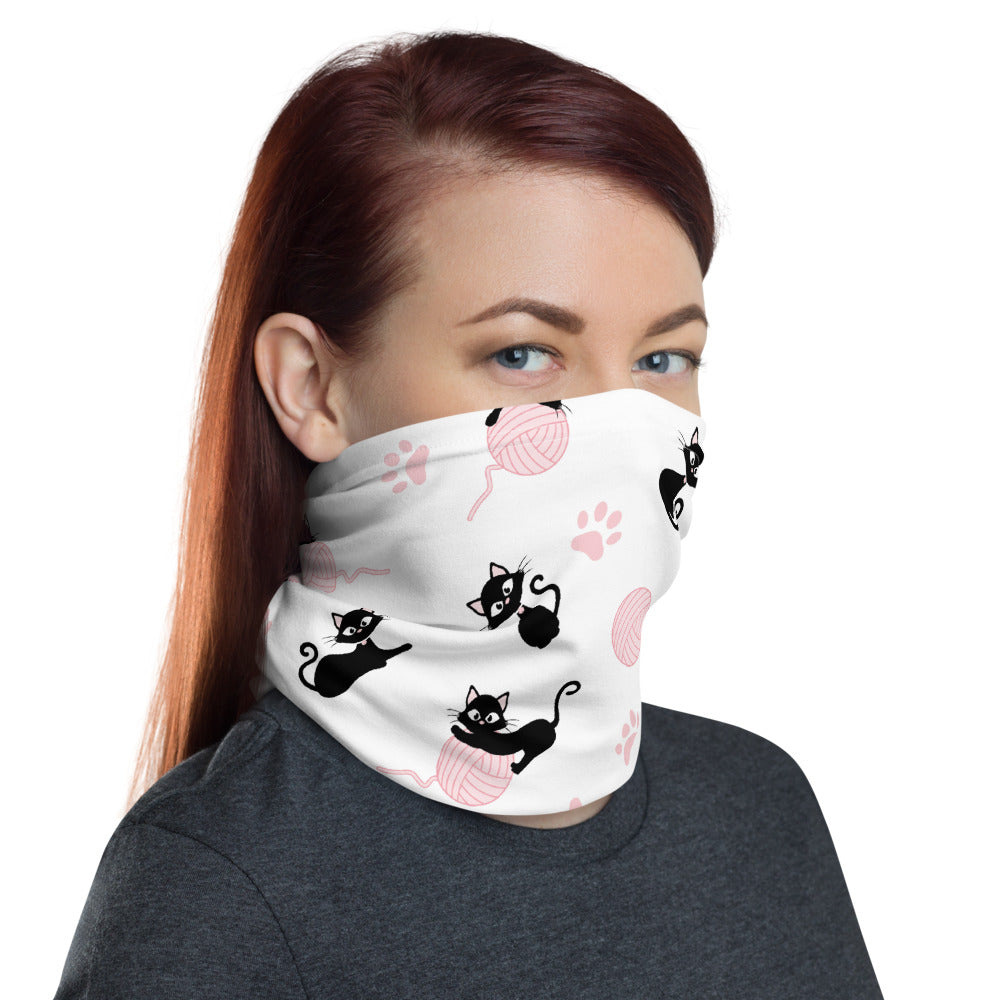 Cat Yarn Full Cover Face Mask - Charminique