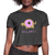 Doghnut Dog Donut Women's Cropped T-Shirt - Charminique