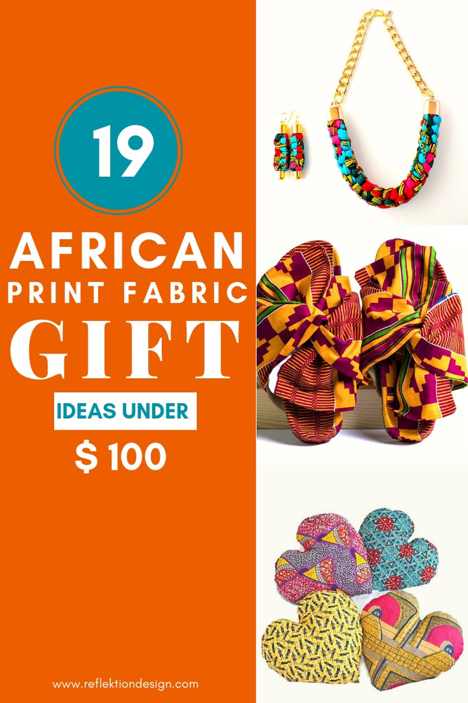 African Print Fabric Gift Ideas Under 100 Reflektion Design