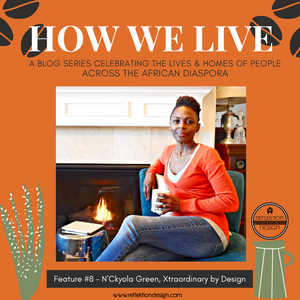How We Live Home Tour: N'Ckyola Green