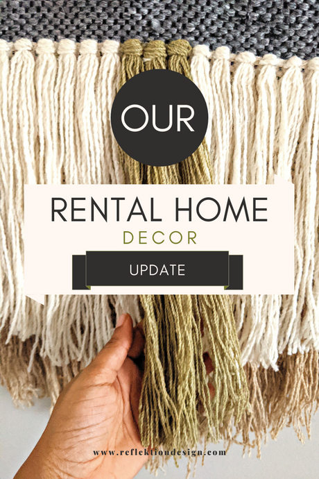 Our Rental Home Decor Update