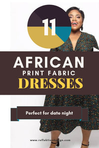 11 African Print Fabric Dresses Perfect For Date Night