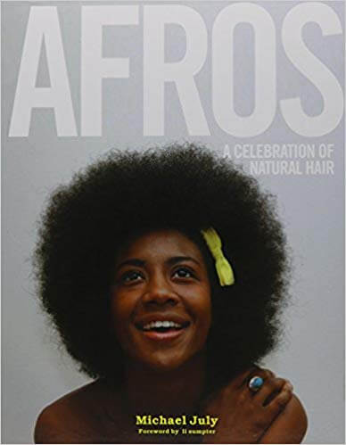 coffee table book celebrating black women natural hair afros