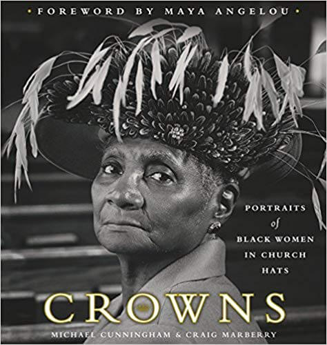 crowns black women in church hats coffee table books