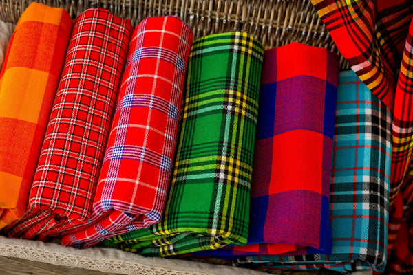 maasai tribe shuka blanket vacation wrap table cloth
