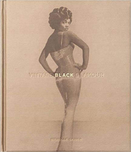 coffee table book vintage black glamour