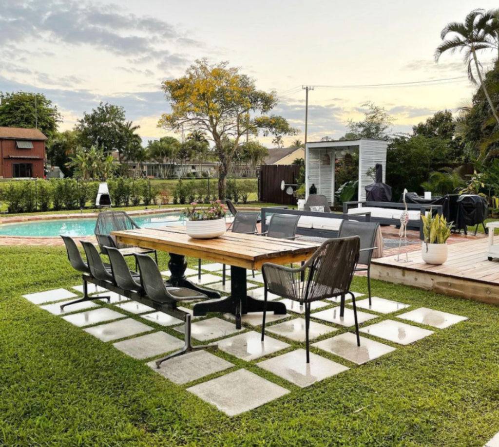 backyard tropical style with pool how we love decor live
