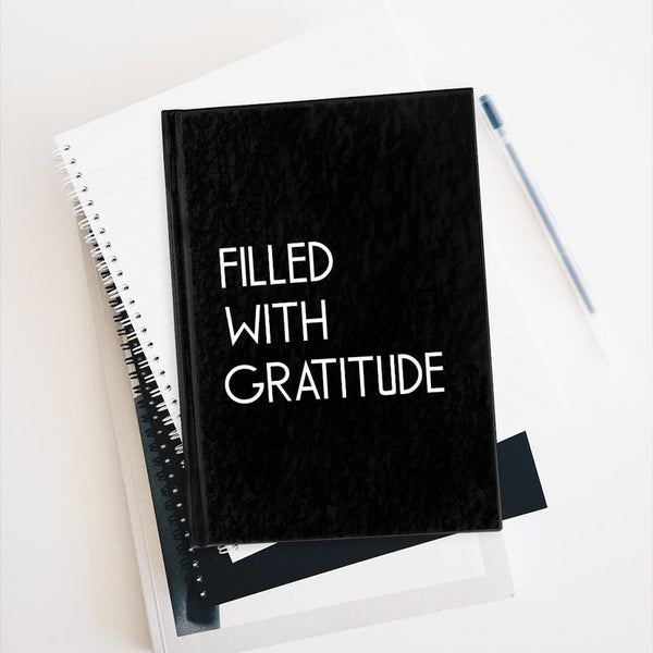 gratitude hard cover journal lined pages