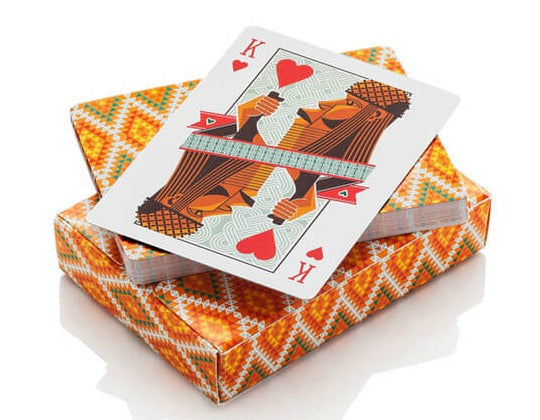 afrocentric black culture playing deck of cards grad gift ideas