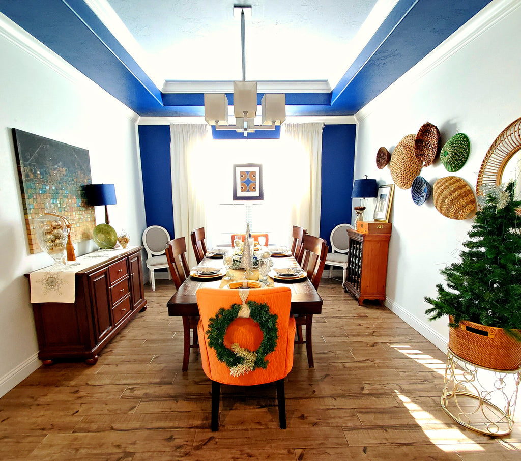 dining room holiday decorations how we live decor blog