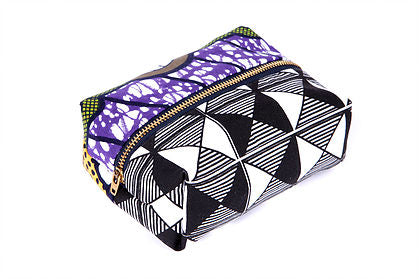 african print fabric cosmetic bag afrocentric vacation travel accessories
