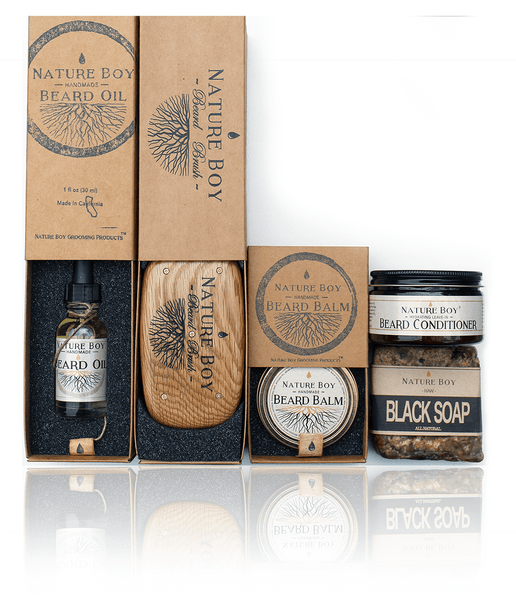 nature boy beard care gift set guift guide for him
