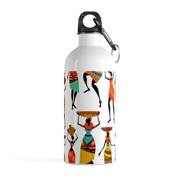african inspired afrocentric metal water bottle vacation travel accessories