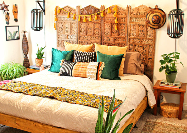 african american home tour bohemian style