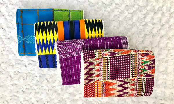 african print fabric burp cloths baby shower gift ideas afrocentric
