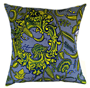 Lock & Key African Print Fabric Pillow Covers