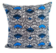 Rooted African Print Fabric Pillow Covers