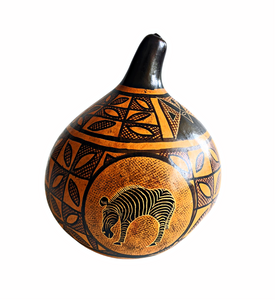 Calabash Painted African Gourds