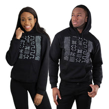 Black Mud Cloth Pattern Unisex Hoodie